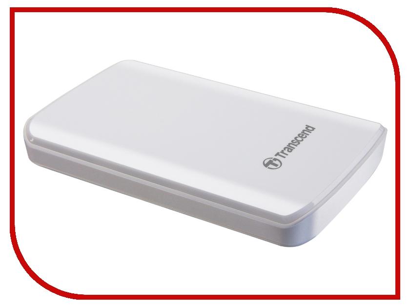 внешние HDD/SSD TS1TSJ25D3W  Жесткий диск Transcend StoreJet 25D3 1Tb White TS1TSJ25D3W