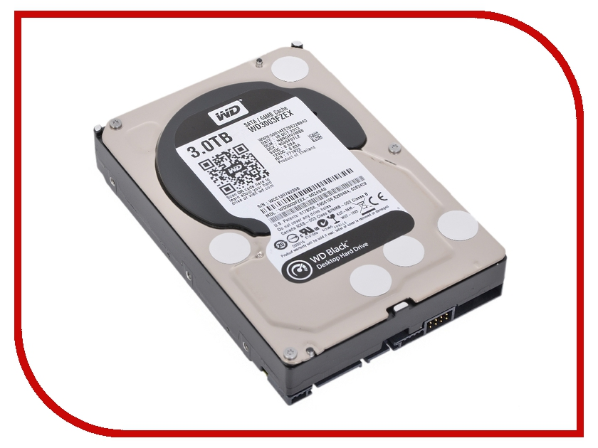 Жесткий диск 3Tb - Western Digital WD3003FZEX