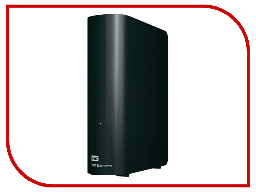 Жесткий диск Western Digital Elements 2Tb USB 3.0 Black WDBWLG0020HBK-EESN жесткий диск пк western digital wd20ezrz 2tb wd20ezrz