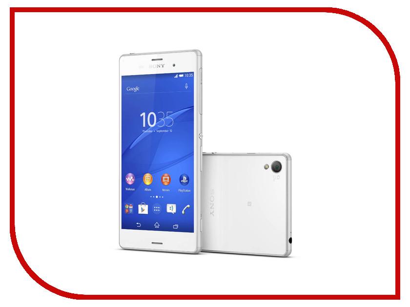 Сотовый телефон Sony D6603 Xperia Z3 White<br>