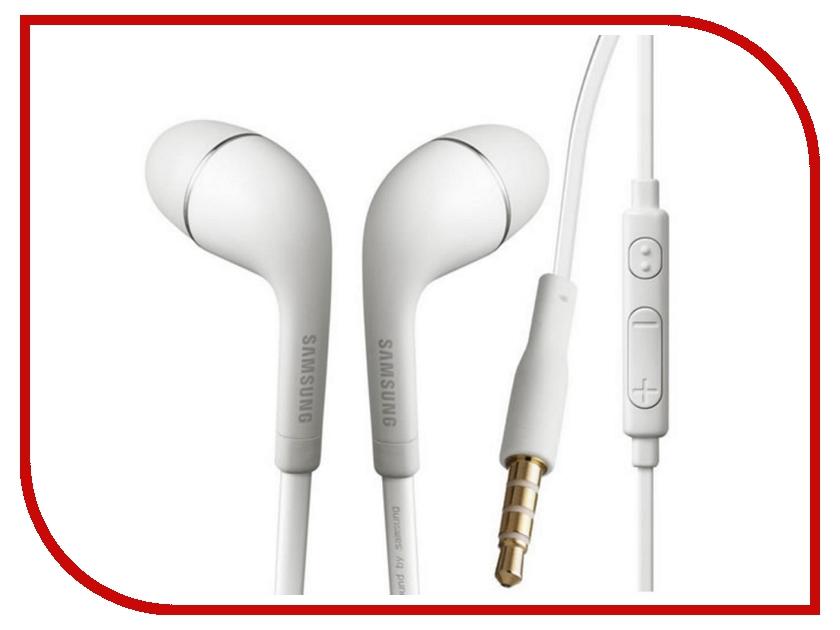 Гарнитура Samsung HS330 EO-HS3303WEGRU White гарнитура samsung akg eo ig955 gray sam eo ig955bsegru
