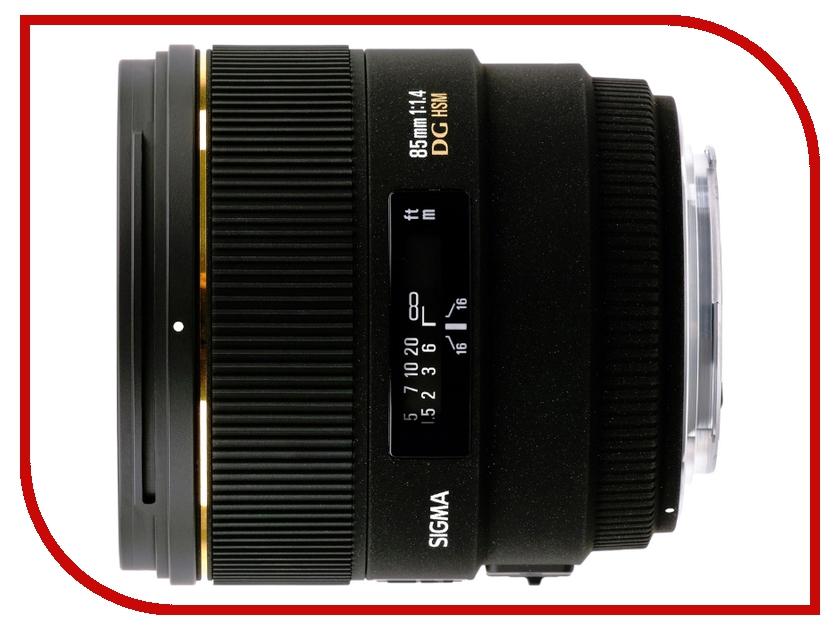 Объектив Sigma Nikon AF 85 mm F/1.4 EX DG HSM