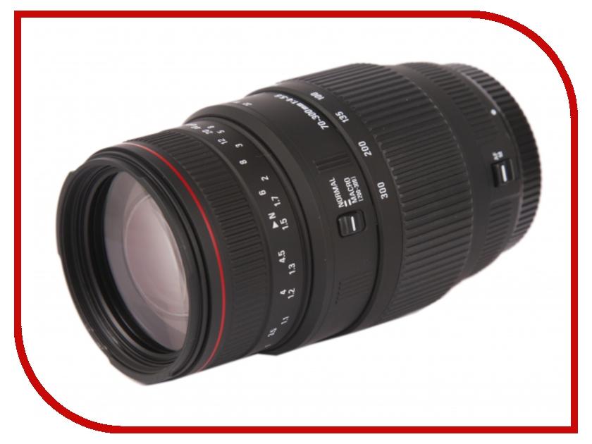 Объектив Sigma Sony / Minolta AF 70-300 mm F/4-5.6 DG MACRO