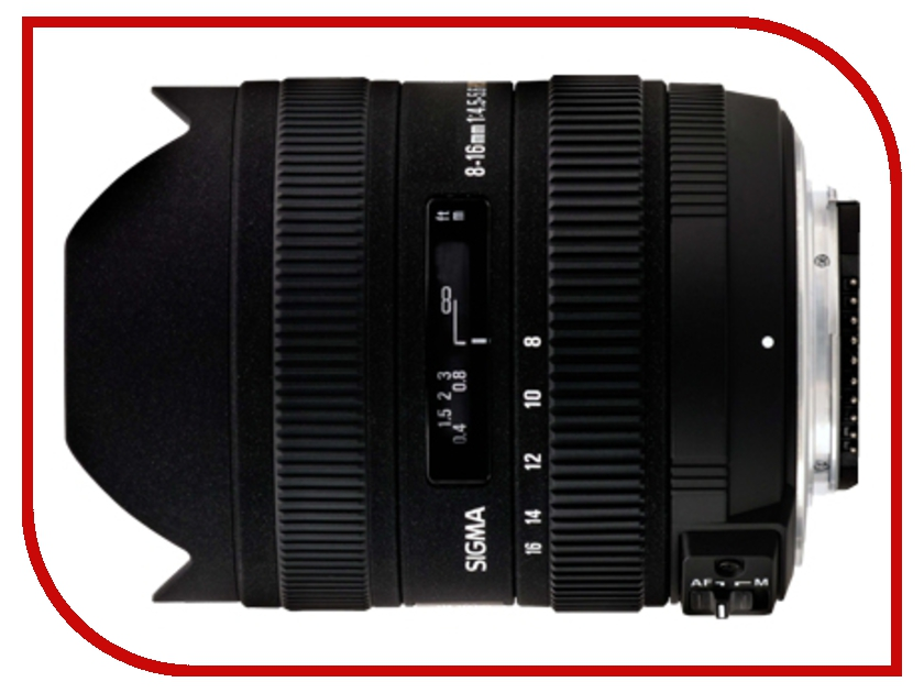 Объектив Sigma Sony / Minolta AF 8-16 mm F/4.5-5.6 DC HSM