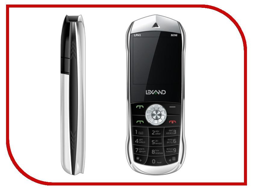 Сотовый телефон Lexand Mini LPH-1 Black сотовый телефон lexand a2 flip black