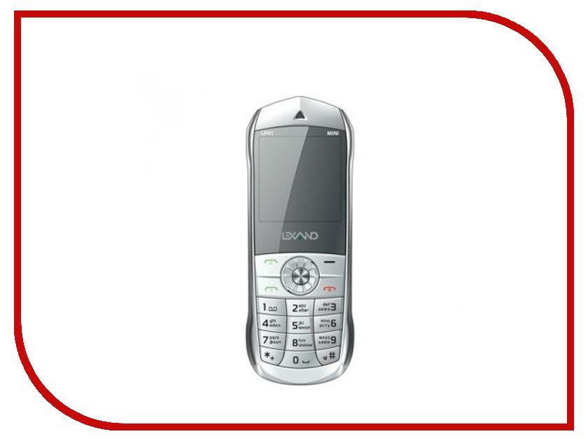 Сотовый телефон Lexand Mini LPH-1 White навигатор lexand sa5 hd