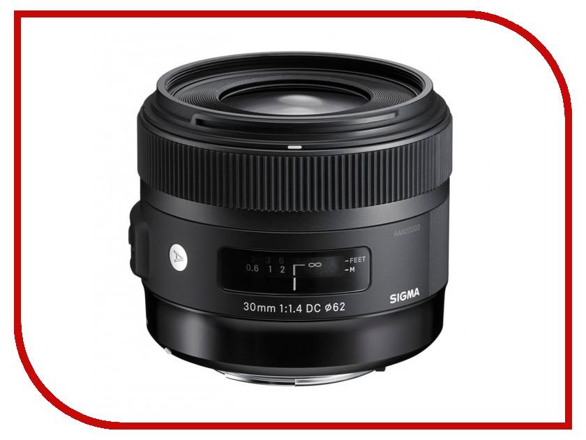 Объектив Sigma Pentax AF 30 mm F/1.4 DC HSM ART<br>