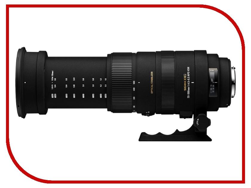 Объектив Sigma Nikon AF 50-500 mm F/4.5-6.3 APO DG OS HSM