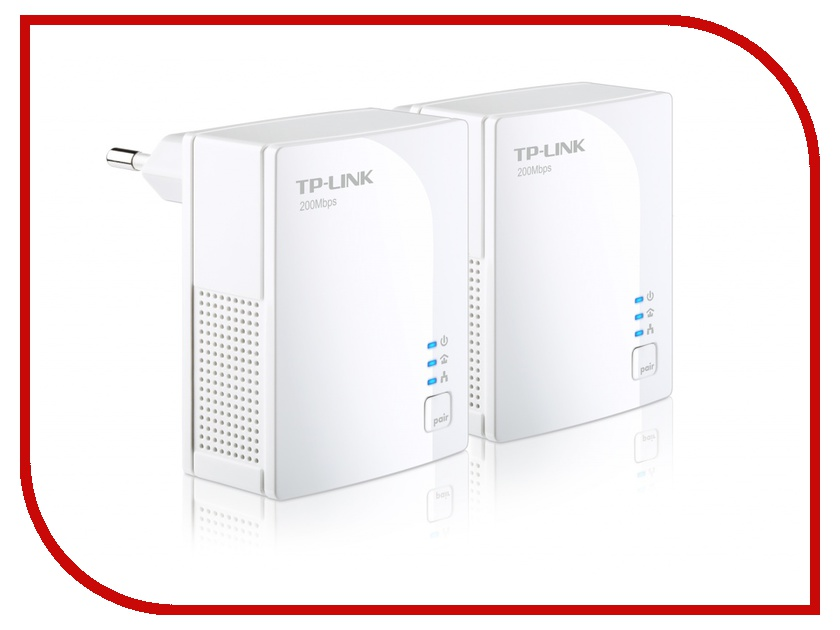 Powerline адаптер TP-LINK TL-PA2010KIT<br>