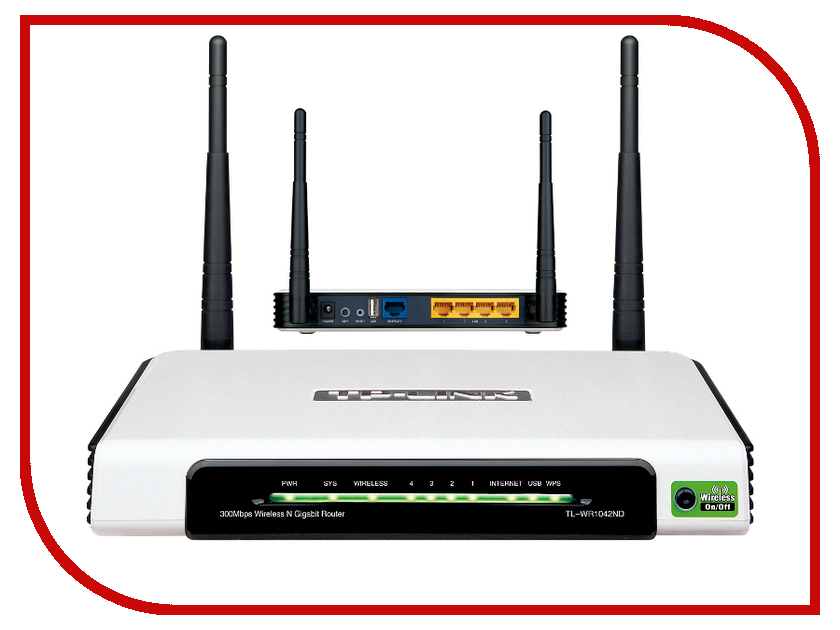 Wi-Fi роутер TP-LINK TL-WR1042ND<br>