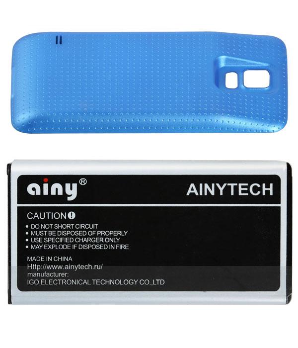 Аксессуар Аккумулятор Samsung GT-i9600 Galaxy S5 Ainy 5600 mAh Blue