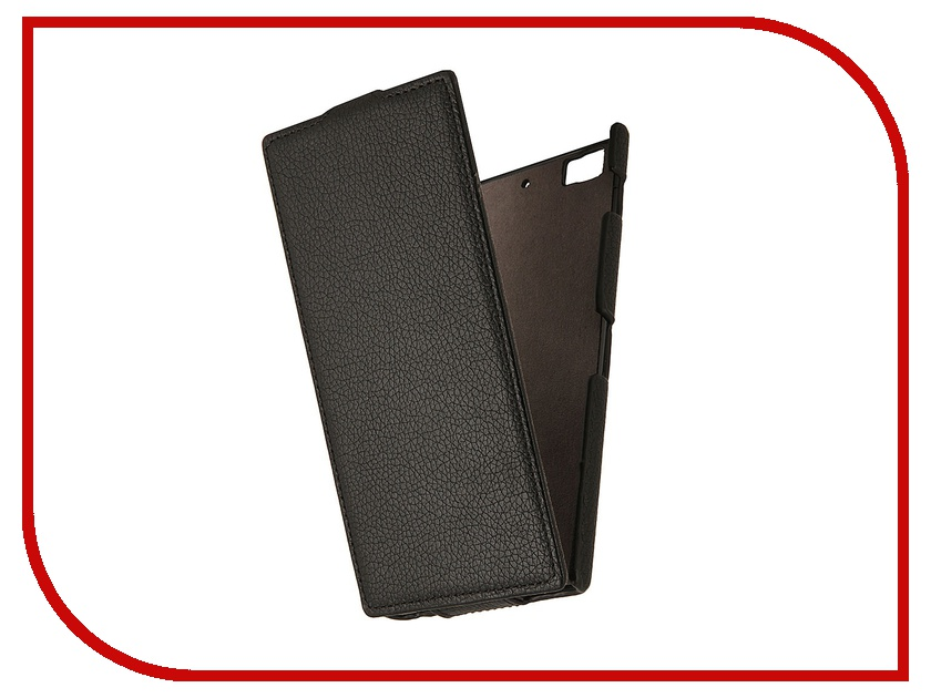 Аксессуар Чехол Lenovo K900 Partner Flip-case Black
