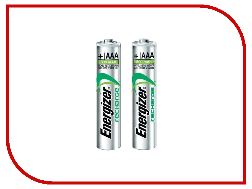 Аккумулятор AAA - Energizer Rech Extreme FSB2 800 mAh Ni-MH (2 штуки)<br>