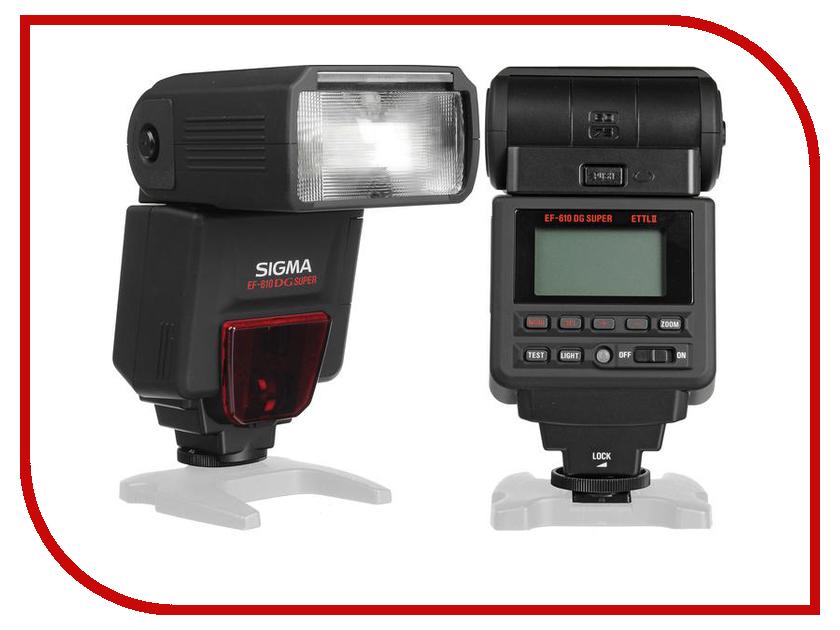 Вспышка Sigma EF 610 DG Super Canon