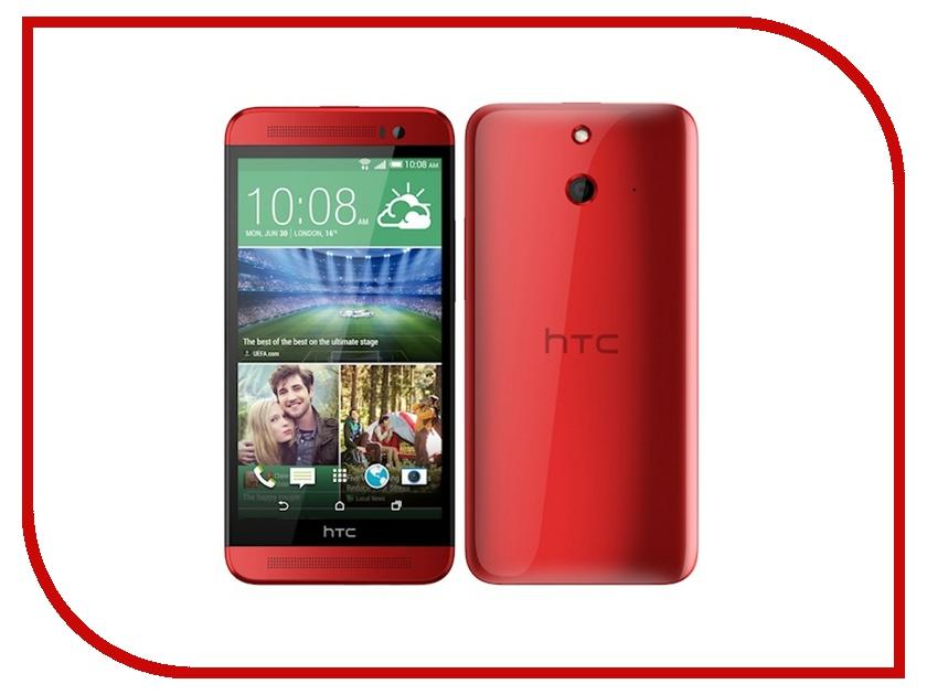 Сотовый телефон HTC One E8 Dual Sim Red