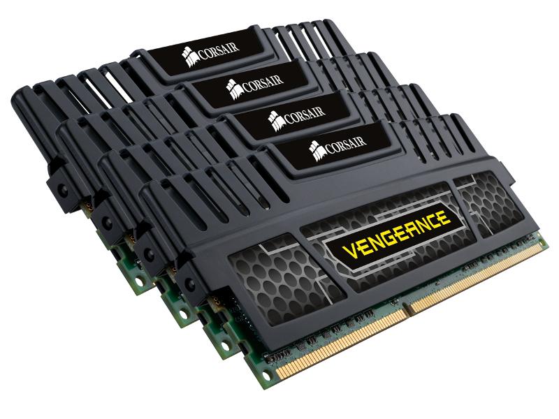 Модуль памяти Corsair Vengeance DDR3 DIMM 1866MHz PC3-15000 CL9 - 32Gb KIT (4x8Gb) CMZ32GX3M4A1866C9 от Pleer