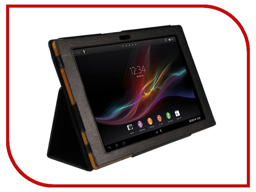 Аксессуар Чехол для Sony Xperia Tablet Z2 10.1 IT Baggage/Skinbox иск. кожа Black ITSYXZ201-1