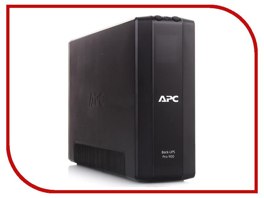 Источник бесперебойного питания APC Back-UPS RS 900VA 540W BR900G-RS источник бесперебойного питания apc back ups bc650 rsx761 bc650 rsx761