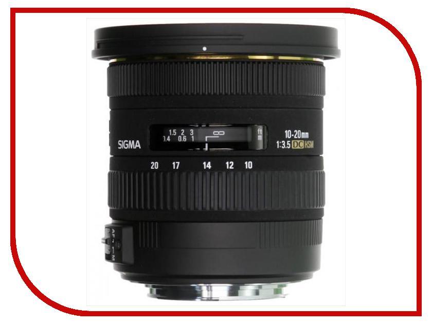 Объектив Sigma Sony / Minolta AF 10-20 mm F/3.5 EX DC HSM