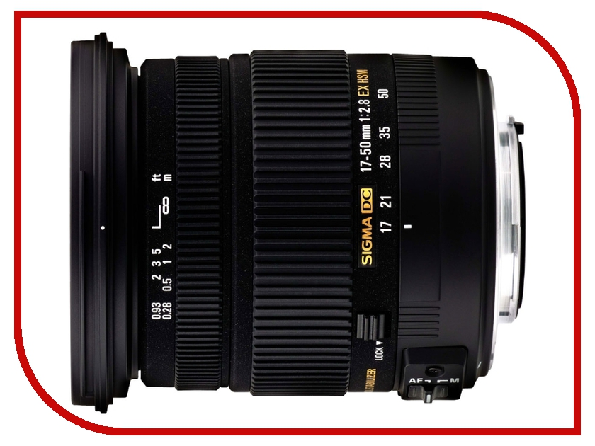 Объектив Sigma Pentax AF 17-50 mm F/2.8 DC EX HSM<br>
