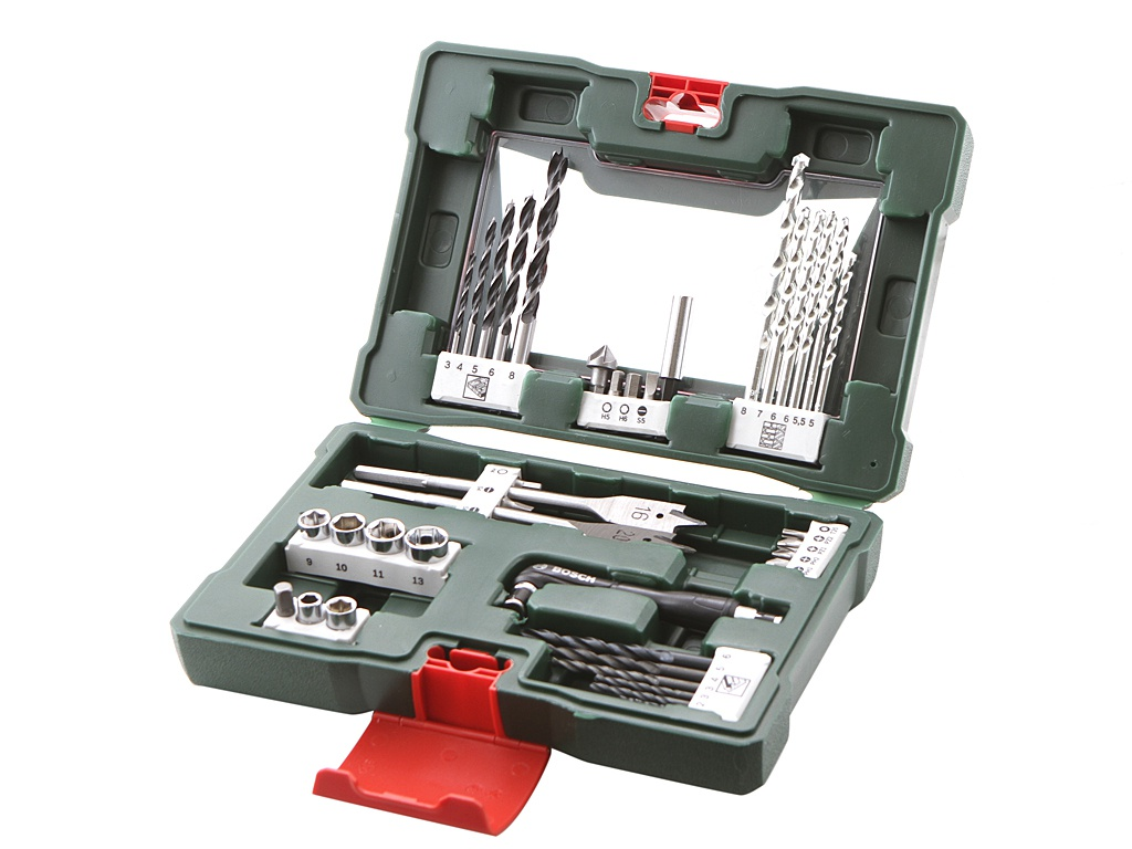 Набор сверл и бит Bosch V-Line-41 41 предмет 2607017316