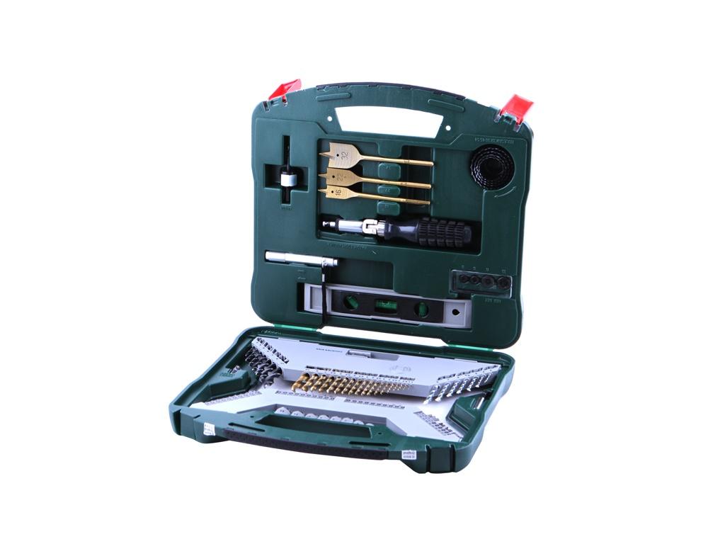 Набор сверл и бит Bosch X-Line-100 100 предметов 2607019330 цена 2017