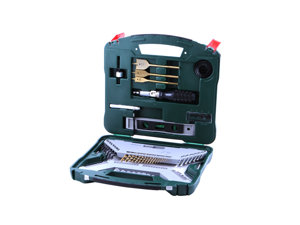 Набор сверл и бит Bosch X-Line-100 100 предметов 2607019330 набор сверл и бит bosch x line 70 70 предметов 2607019329