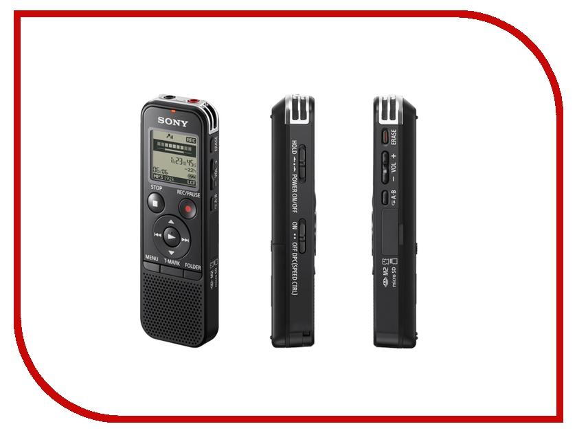 Диктофон Sony ICD-PX440 - 4Gb Black<br>