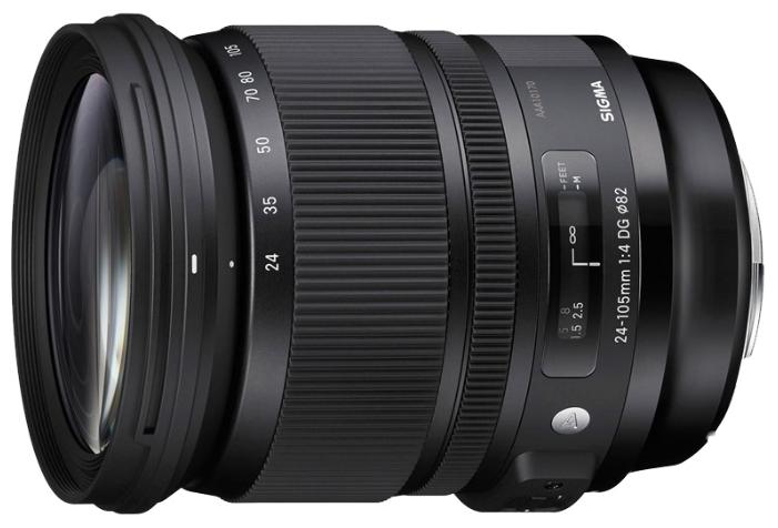 Объектив Sigma Nikon AF 24-105 mm F/4.0 DG OS HSM ART
