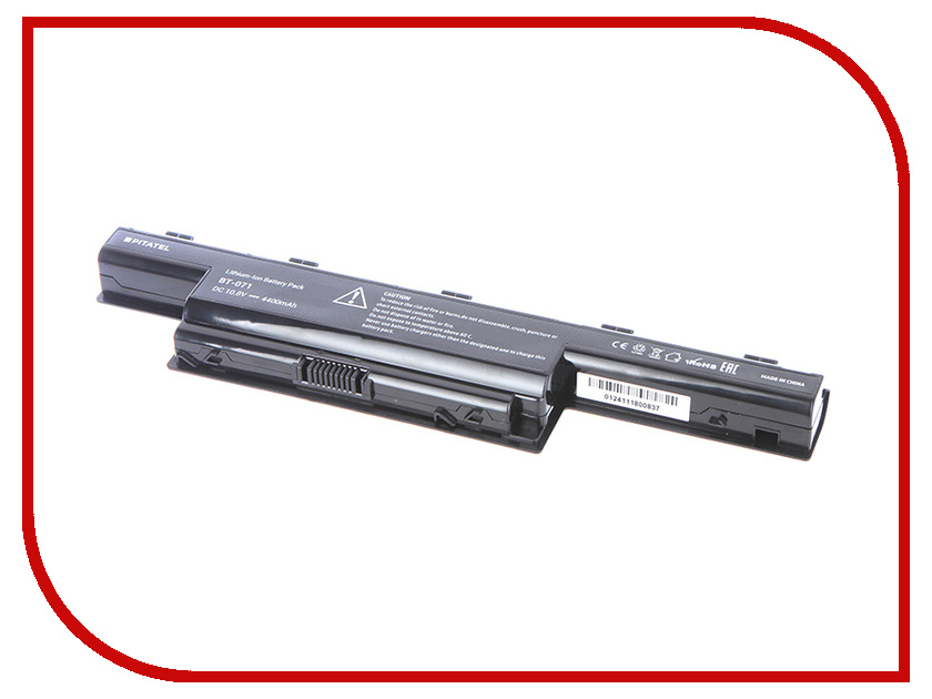 Аккумулятор Acer Aspire 5551G/5552G/5741 Series AS10D31/AS10D41/AS10D61/AS10D71/AS10D73 Pitatel 5200mAh BT-071