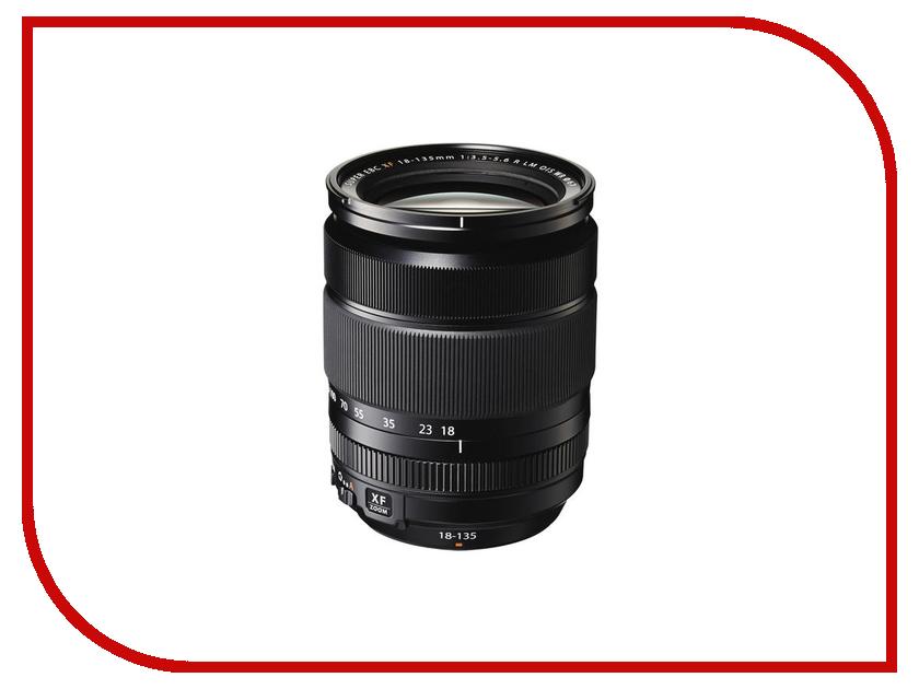 Объектив Fujifilm XF 18-135mm f/3.5-5.6 R LM OIS WR объектив fujifilm xf 90mm f 2 r lm wr