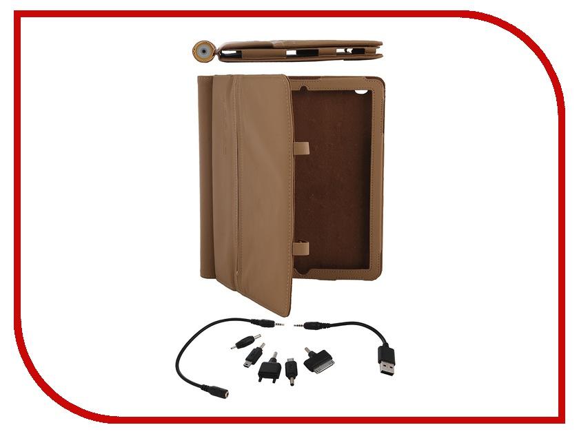 Аксессуар Аккумулятор-чехол Veho Pebble Folio 6600mAh VPP-003-TAN для iPad / iPad 2 Tan<br>