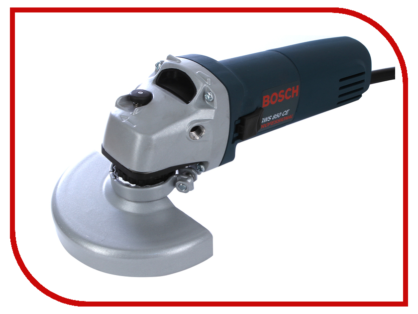 Шлифовальная машина Bosch GWS 850 CE 0601378792 / 0601378794 bosch wab 16071 ce white