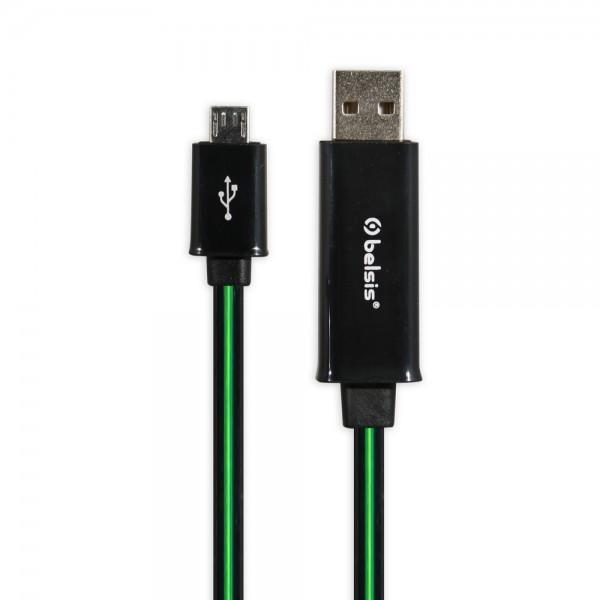 Аксессуар Belsis micro USB - USB 80cm BS1041