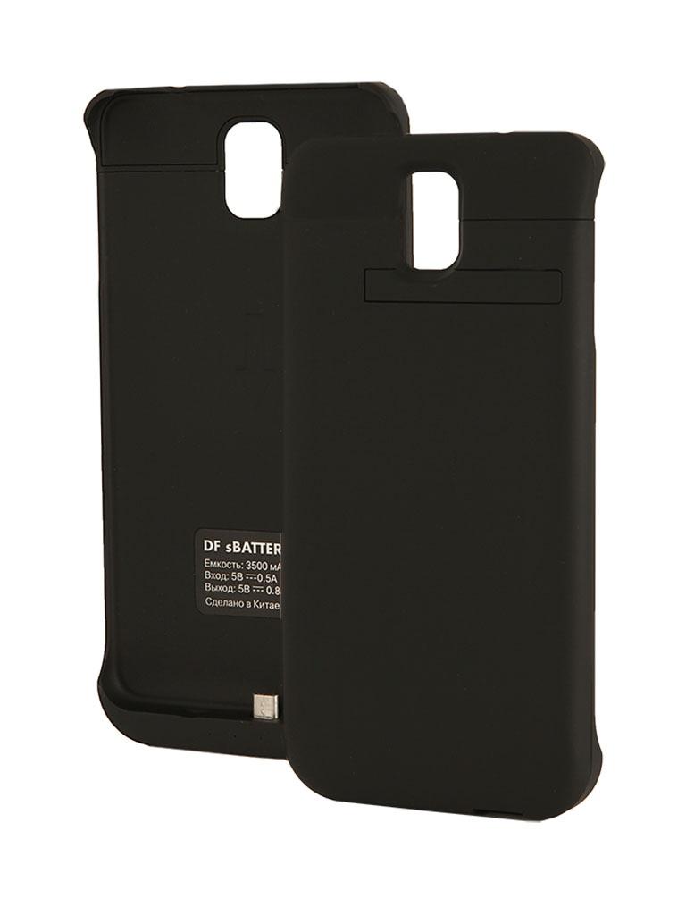 Аксессуар Чехол-аккумулятор Samsung SM-N900 Galaxy Note 3 DF SBattery-12 Black