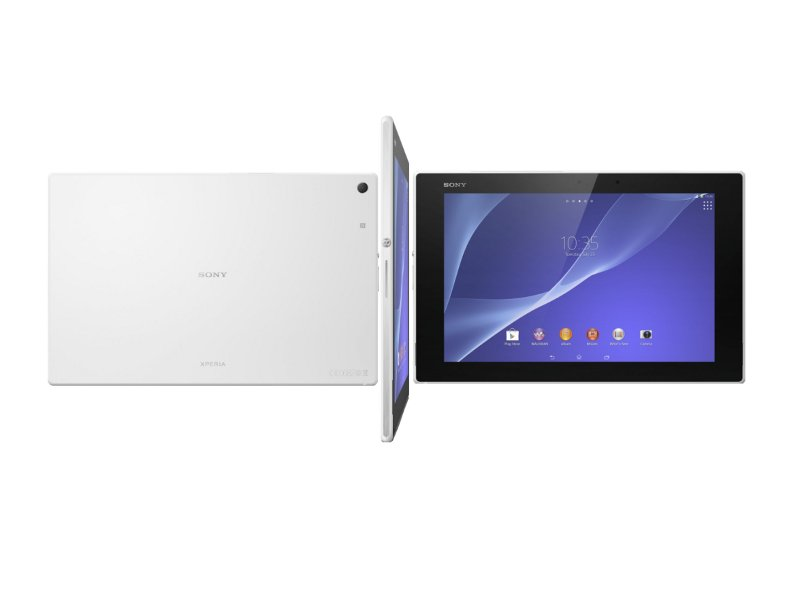 Планшет Sony Xperia Tablet Z2 32Gb SGP512RU/W White Qualcomm Snapdragon 801 2.3 GHz/3072Mb/32Gb/Wi-Fi/Bluetooth/GPS/Cam/10.1/1920x1200/Android
