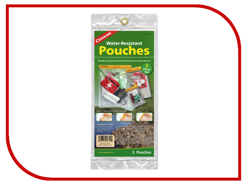 Аквабокс Coghlans Water Resistant Pouch Set 9710<br>