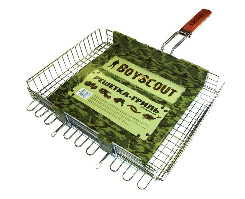 Решетка-гриль Boyscout 61304 универсальная цена