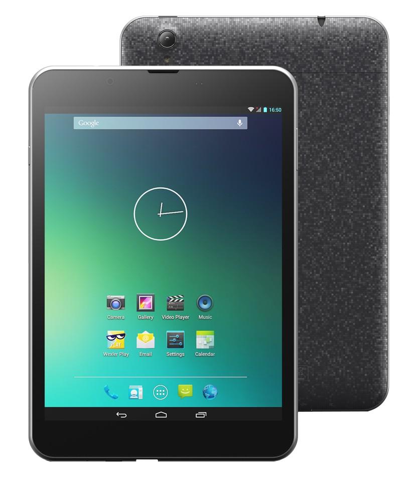 Планшет Wexler Tab 8Q 8Gb 3G Black Cortex A7 1.3 GHz/1024Mb/8Gb/3G/Wi-Fi/Bluetooth/Cam/7.85/1024x768/Android