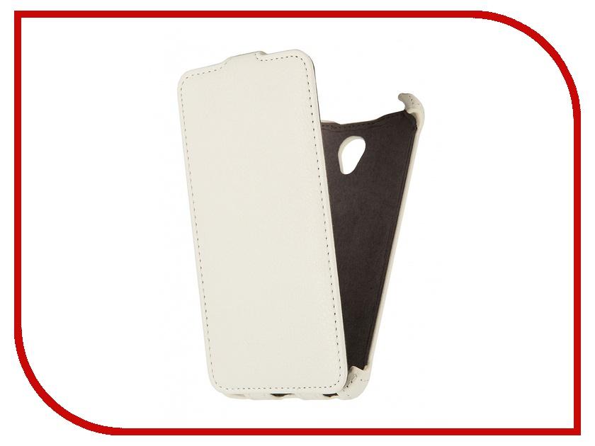 Аксессуар Чехол Lenovo S860 Gecko White<br>