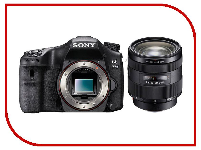 Zakazat.ru: Фотоаппарат Sony Alpha ILCA-77M2 II Kit 16-50 mm