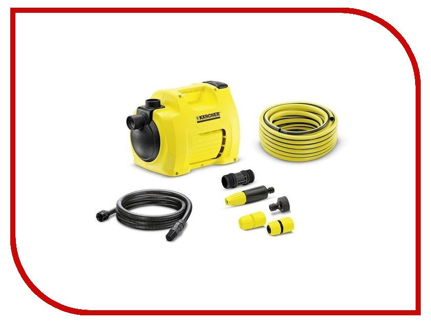 Насос Karcher BP 3 Garden Set Plus 1.645-357 насос садовый karcher bp 3 garden