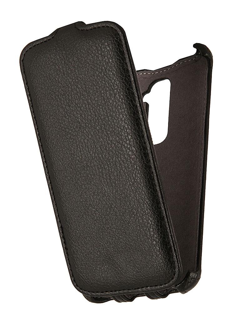 Аксессуар Чехол LG G2 Flex EcoStyle Flip Sheel Black ESH-F-LGG2-BL