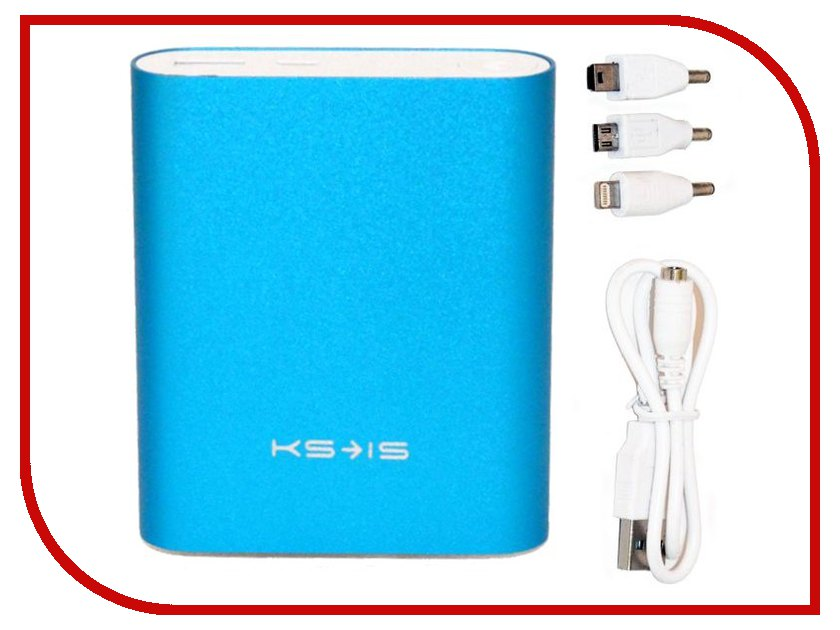 Аккумулятор KS-is KS-239 10400 mAh Blue<br>