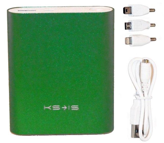 Аккумулятор KS-is KS-239 10400 mAh Green