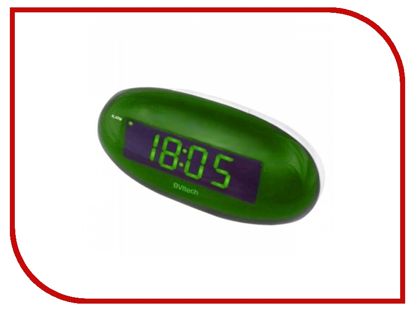 Часы настольные BVItech BV-151GWL Green-White<br>