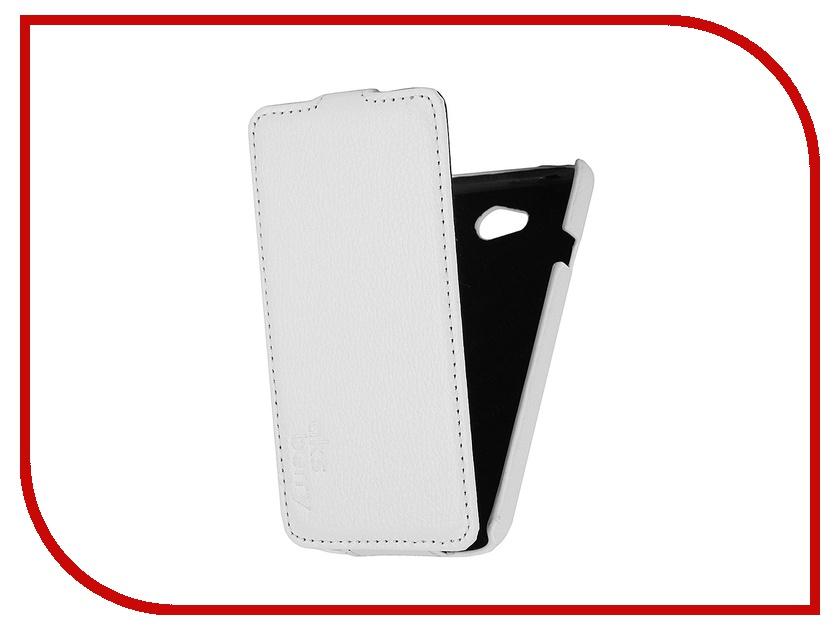 Аксессуар Чехол LG L70 D325 Aksberry White<br>