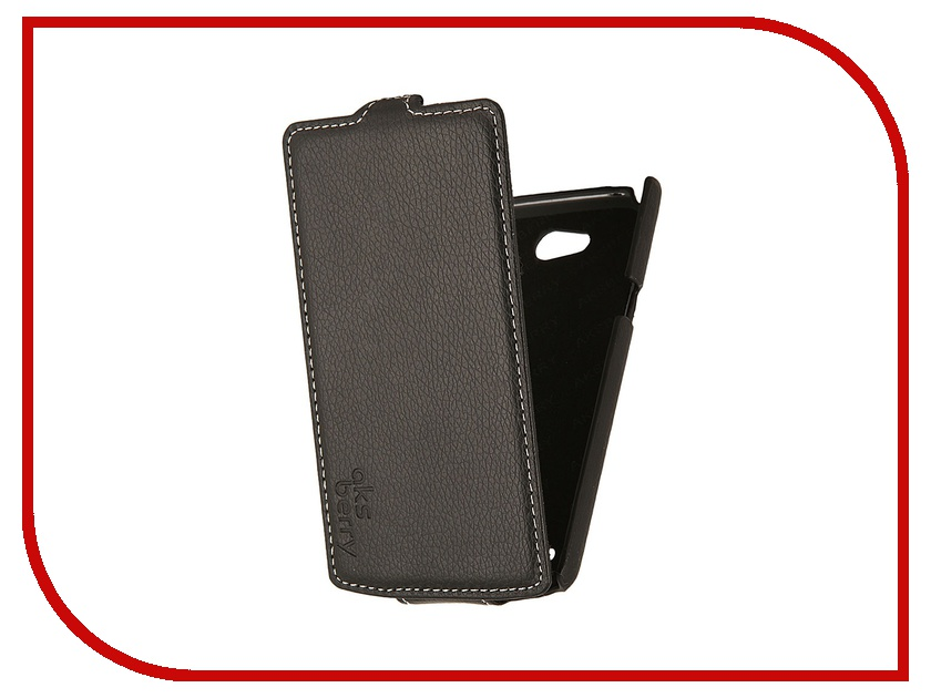 Аксессуар Чехол LG Optimus L80 Aksberry Black