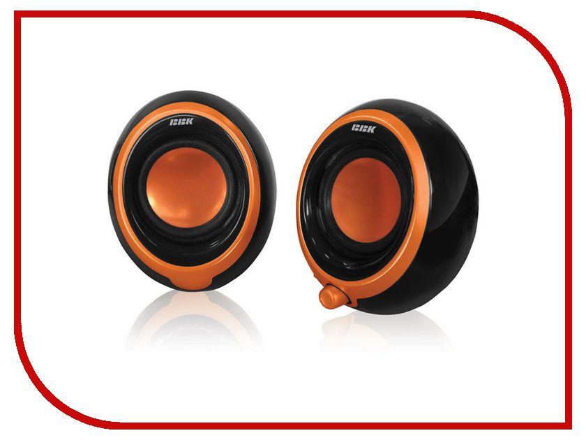 Колонки BBK CA-201S Black-Orange
