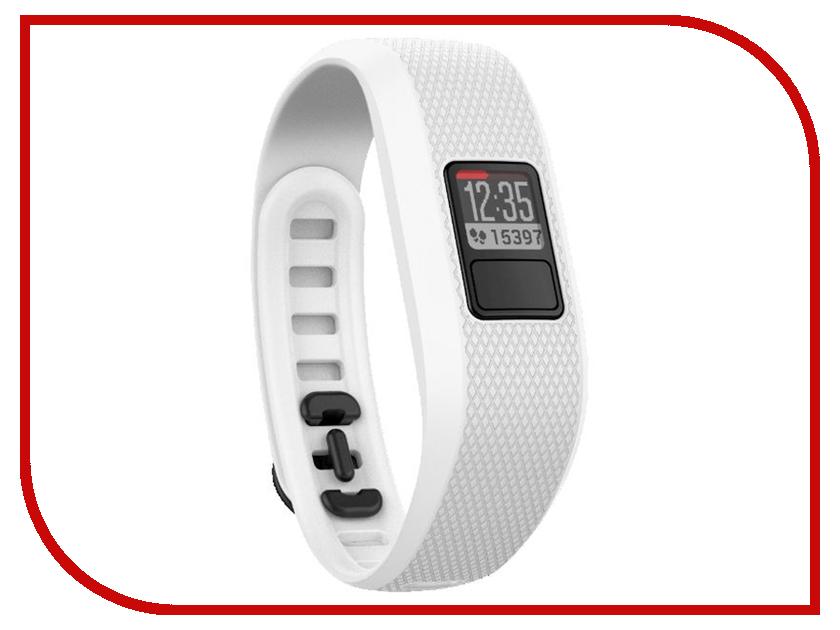 Умный браслет Garmin Vivofit 3 White Regular 010-01608-07<br>